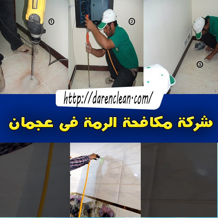 شركة مكافحة الرمة في عجمان_مكافحة حشرات فى عجمان